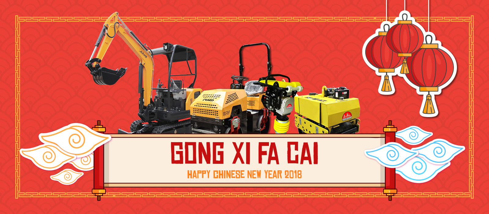 gong xi fa chai happy chinese new years