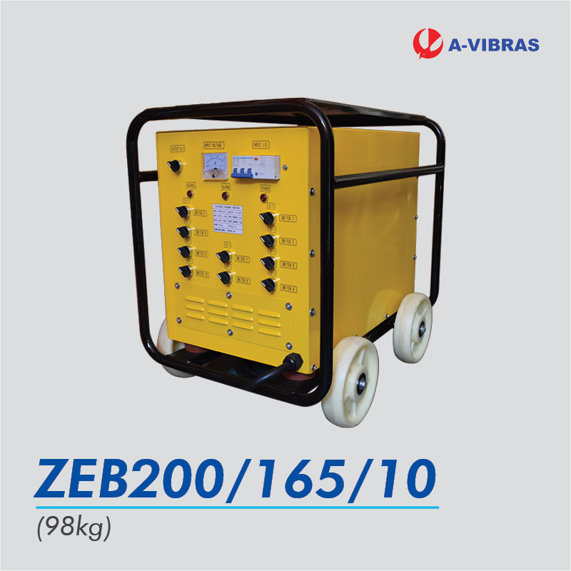 avibras high frequency inverter zeb200/165/10